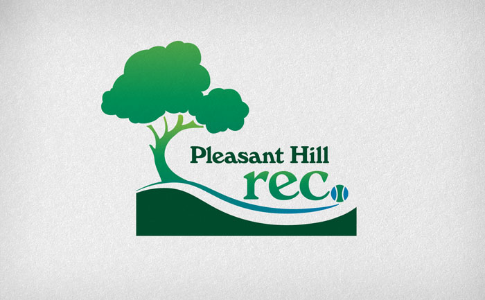 Logo design for Pleasant Hill recreation and park district